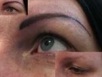 Eyeliner och ögonbrynen, Anastasia
